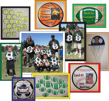 Player Awards and Coach Gifts Collage