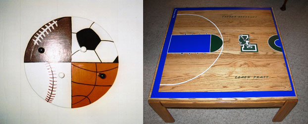 All-Sport Hanger and Coffee Table